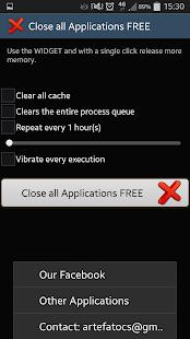 Close ALL Applications- screenshot thumbnail