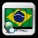 Brazil guide TV icon