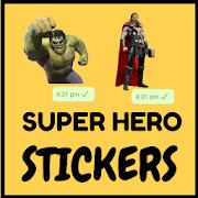 WAStickerapps Superhero stickers - WAStickers