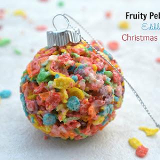Fruity Pebbles Christmas Ornaments.