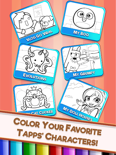 Download My Tapps Coloring Book For PC