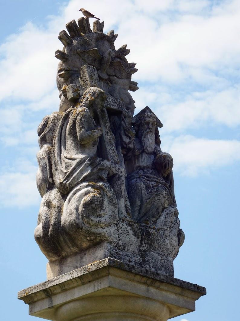 Egervölgy - Szentháromság-szobor