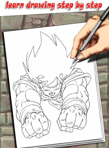 How To Draw DBZ Characters 1.3 screenshots 5