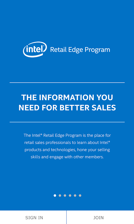 Intel® Retail Edge Program- screenshot