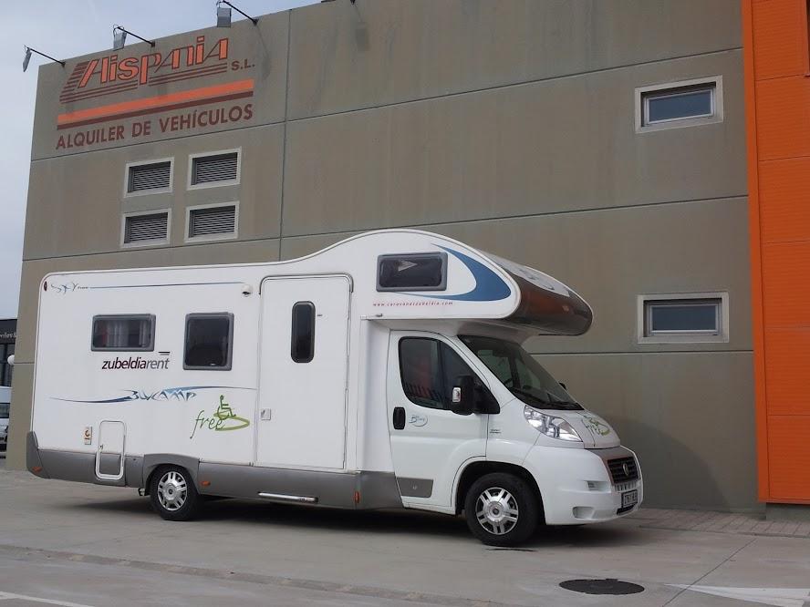 Alquiler de autocaravanas para minusvalidos en Zaragoza, Huesca, Teruel y Salou