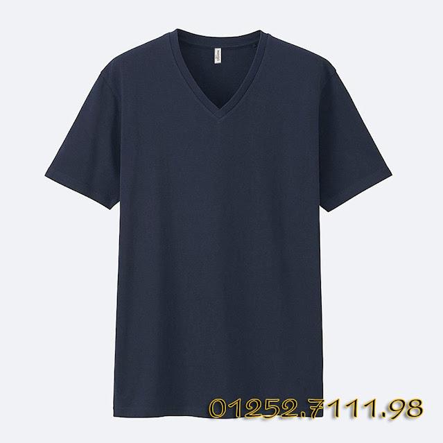 Kho bán buôn sỉ quần áo thời trang VNXK, Made in Vietnam -Áo phông cổ tim mango
