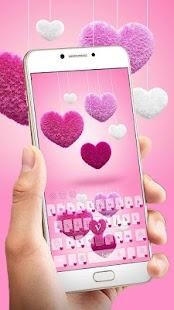 Hairy Love Heart Keyboard - náhled