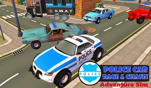 Police Car Race Chase Sim 911