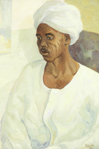 Portrait of a Sudanese Gentleman