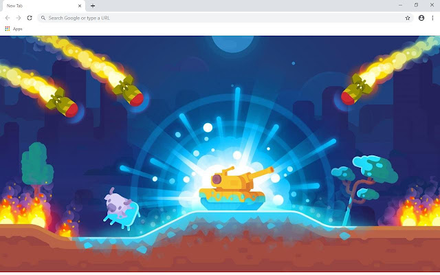 Tank Stars Wallpapers and New Tab