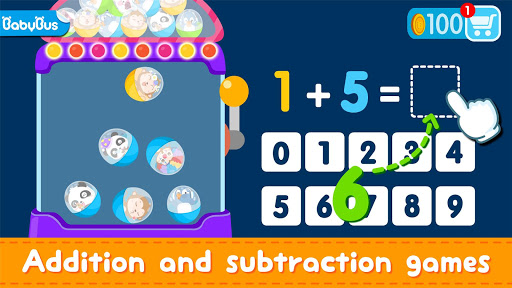 Little Panda Math Genius - Education Game For Kids 8.48.00.01 screenshots 1