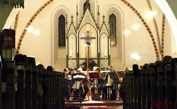 Photo: Adventskonzert mit rostocker Posaunenchor in der Dorfkirche zu Biestow