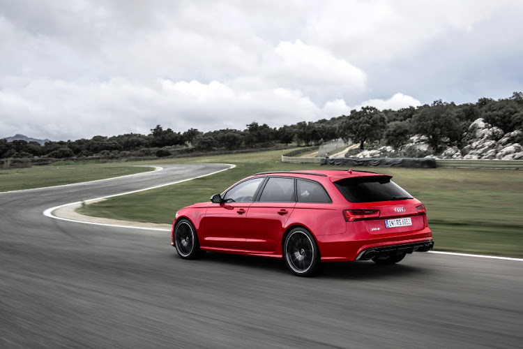 Audi RS6 Avant. Picture: QUICKPIC