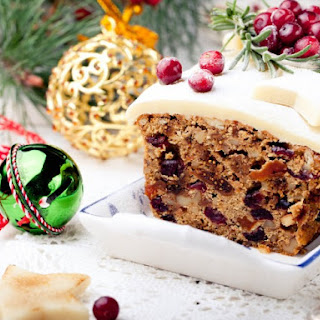 Old English Fruit Cake.
