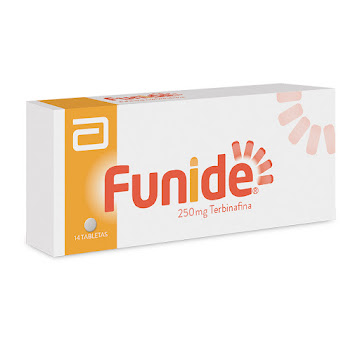 Solo Online Funide 250mg Tabletas   Caja x14tab Dermatic TERBINAFINA