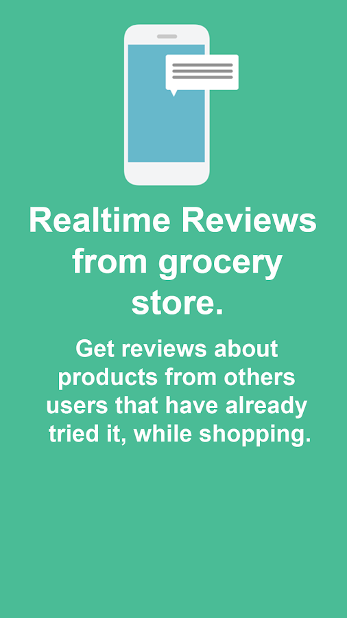 Grocery Reviews - GoodFoods- screenshot