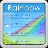 GO SMS Pro Rainbow