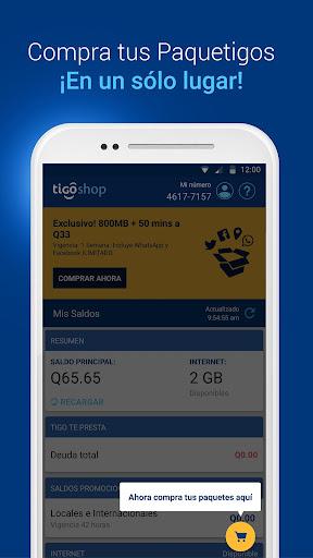 Tigo Shop: Consulta y compra Paquetigos prepago 2.0.3 screenshots 3