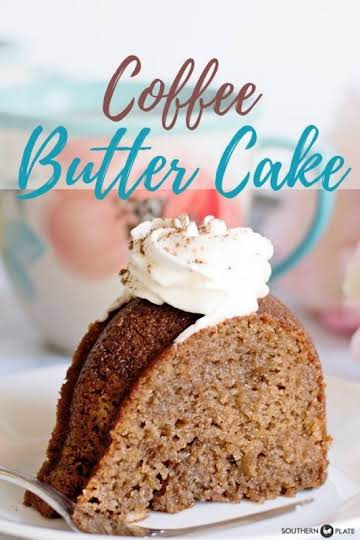 Christy's Coffee Butter Cake