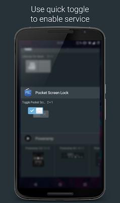 Pocket Screen Lock - screenshot