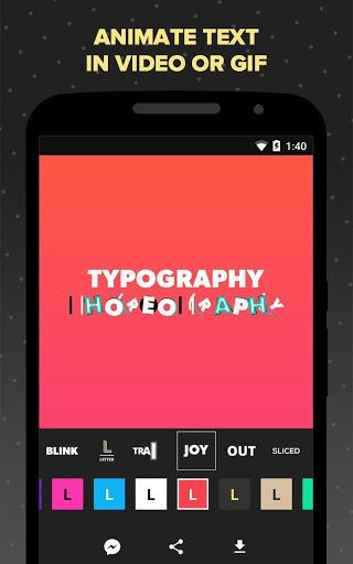 Legend Pro - Animated Text in Video & Gif  screenshots 1