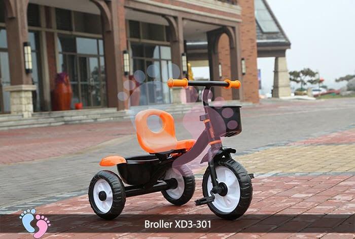 Xe đạp ba bánh trẻ em Broller XD3-301 6