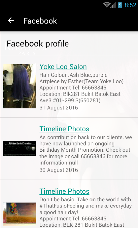 Yoke loo salon android apps on google play for Action salon singapore
