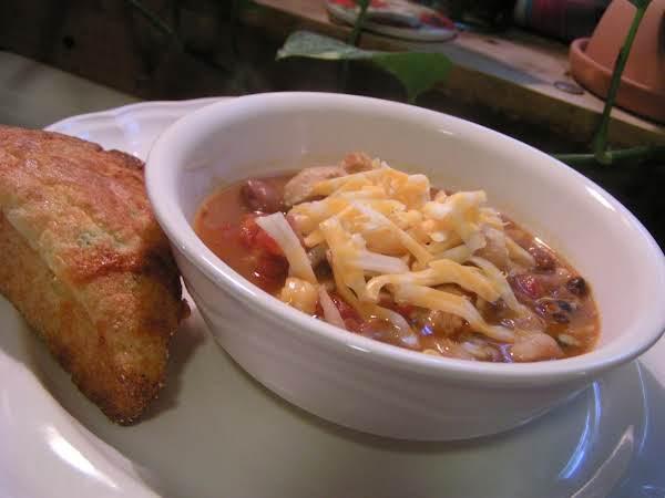 Healthy Sante Fe Chicken Soup