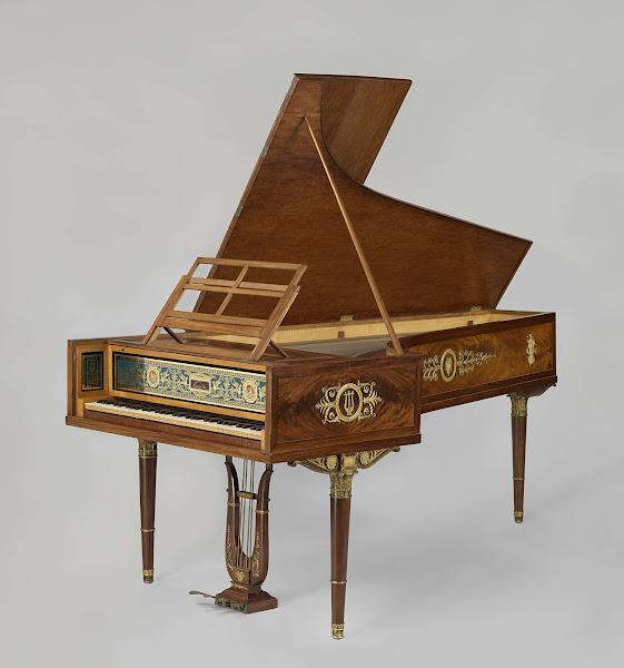 Historische fortepiano 1808 Rijksmuseum