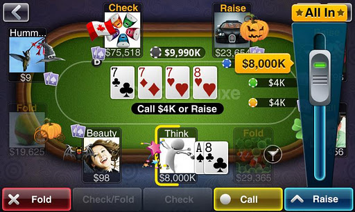 Texas HoldEm Poker Deluxe screenshot 2