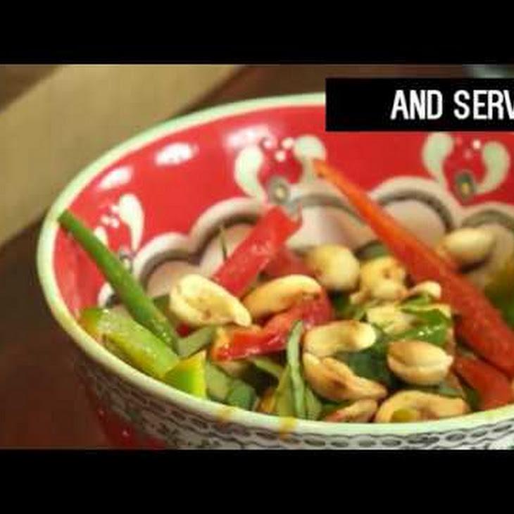 Tofu Pad Prik Curry Recipe