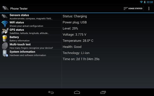 Phone Tester (hardware info) screenshot 12