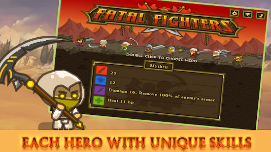 Fatal Fighting: Best Collapse Stategy Game Screenshot