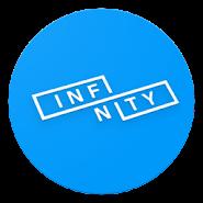 Black/Dark Substratum Theme «Infinity» APK icon