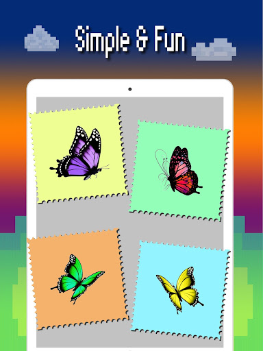 Butterfly color by number : Bugs coloring book apktram screenshots 10