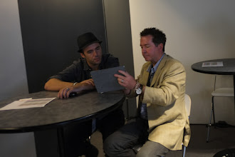 """Photo: Jeremy Cowart in one of our """"one-on-one"""" portfolio reviews. By the way; we did an after-hours session called """"An evening with Jeremy Cowart"""" that just blew everybody away. It was the talk of the conference!"""