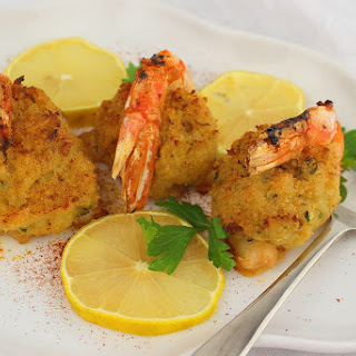 Crab Stuffed Shrimp.