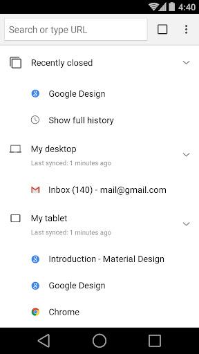 Chrome Browser - Google screenshot 4