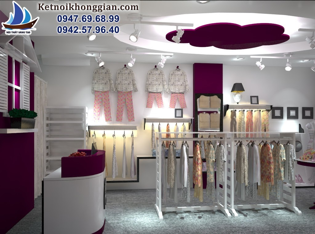 thiết kế shop thời trang nữ why not Boutique