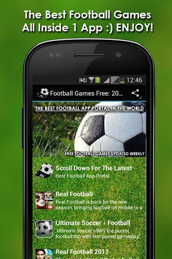 Football Games Free: 2016