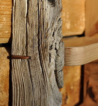 Photo: #7B Ladder Shelf - detail of bamboo splines
