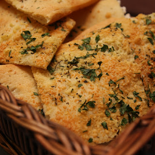 Easy Rustic Garlic Bread Recipe