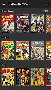 Golden Comics screenshot 0