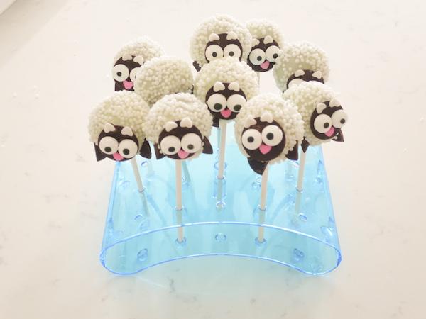 Baby Sheep Cake Pops Recipe