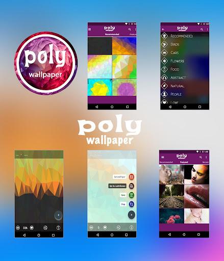 無料个人化Appのpoly wallpaper|記事Game