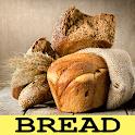Bread recipes free offline app icon