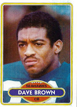 Photo: Dave Brown 1980 Topps RC