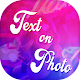 Quotes on Photo : Text on Pictures Editor APK