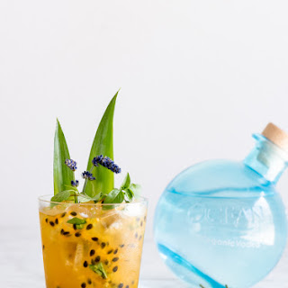Lavender Passion Fruit Vodka Lemonade