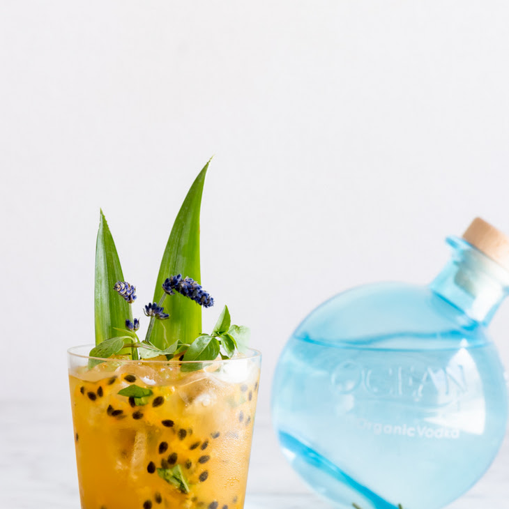 Lavender Passion Fruit Vodka Lemonade
